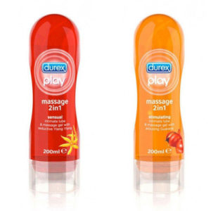 Durex Play Massage Set (2x 200 ml)