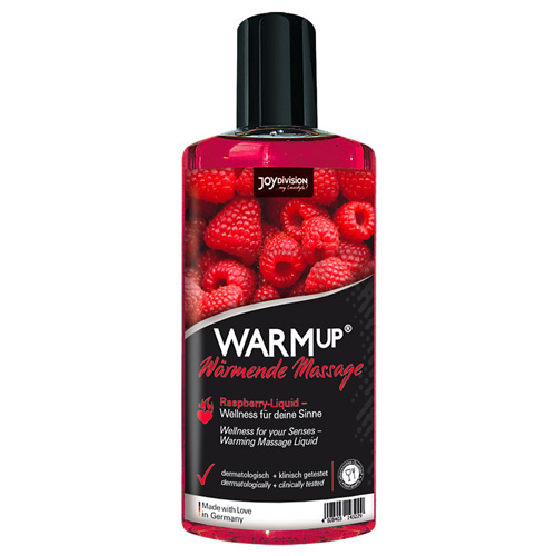 WARMup Massage Oil Raspberry (150 ml)
