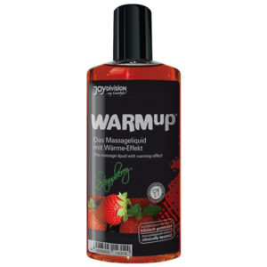 WARMup Massage Oil Strawberry (150 ml)