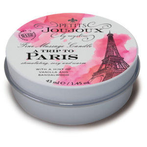 "Massage Candle ""A Trip To Paris"" (43 ml)"