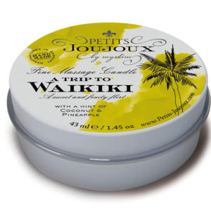 "Massage Candle ""A Trip To Waikiki"" (43 ml)"